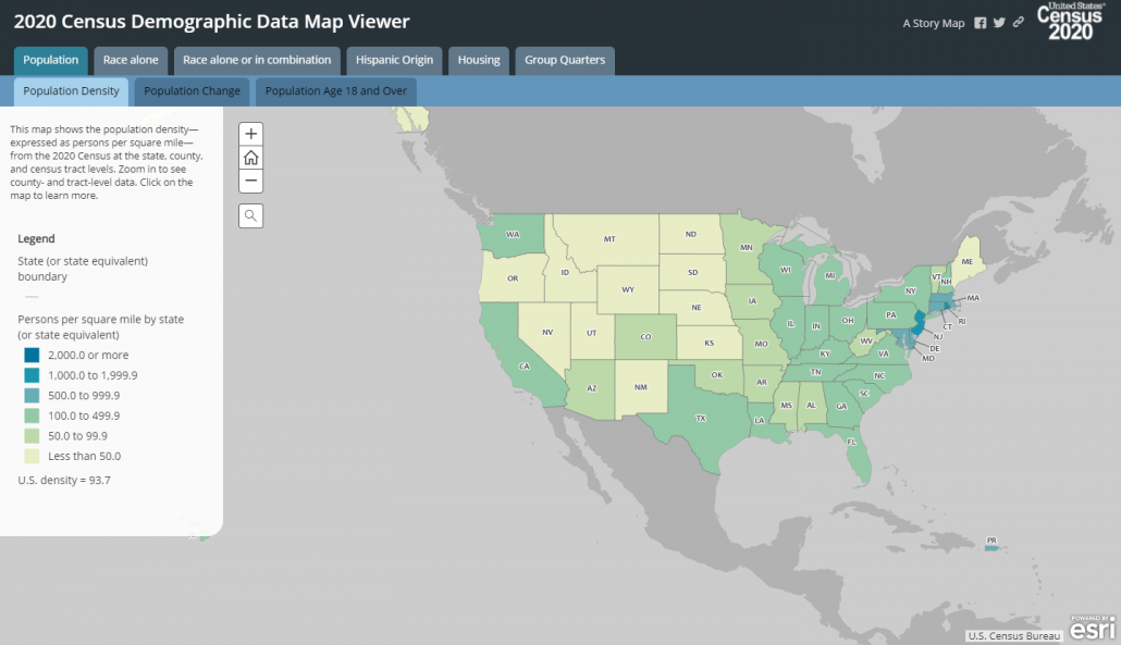 Census Map Viewer
